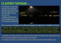 Pollution lumineuses